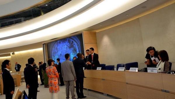 Ratifica Vietnam su compromiso de garantizar los derechos humanos - ảnh 1