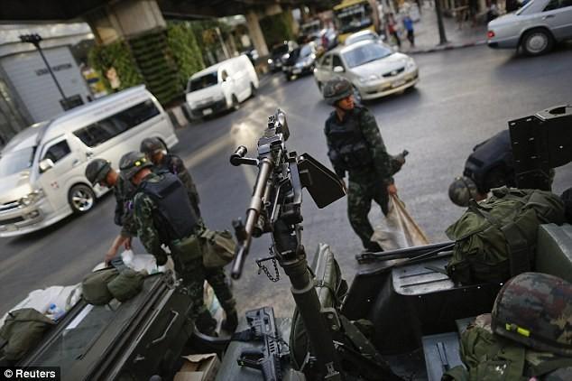 Tailandeses apoyan la Junta militar - ảnh 1