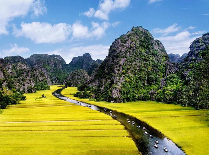 La belleza del conjunto paisajístico de Tràng An - ảnh 8