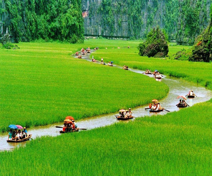 La belleza del conjunto paisajístico de Tràng An - ảnh 14