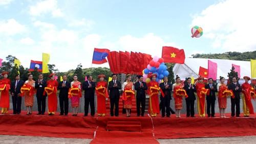 Inauguradas nuevas entradas fronterizas Vietnam- Laos - ảnh 1