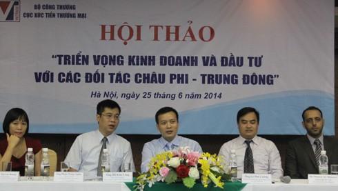 Valoran perspectivas de comercio e inversión de Vietnam con África y Oriente Medio - ảnh 1