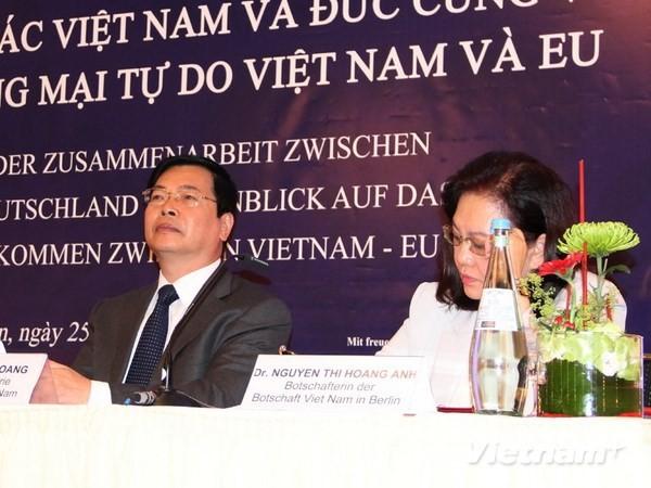 Respalda Alemania negociaciones para Acuerdo de Libre Comercio Vietnam-UE - ảnh 1