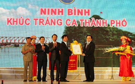 Construir la ciudad de Ninh Binh como centro cultural e histórico - ảnh 1