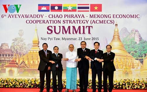 Vietnam por una mayor competitividad económica de la Subregión del Gran Mekong - ảnh 1