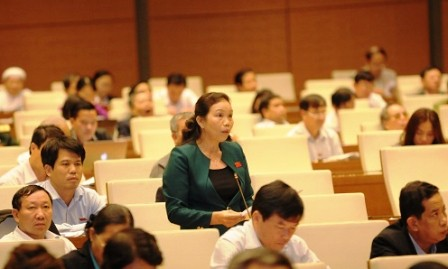 Parlamento vietnamita debate enmiendas de Ley de Procedimiento Administrativo - ảnh 1