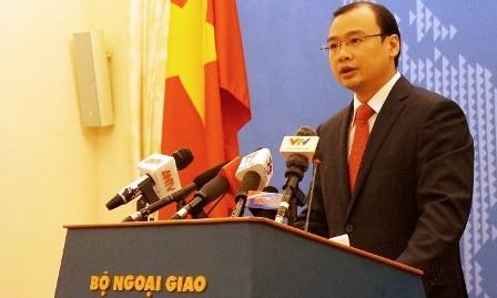 Denuncia Vietnam inútil declaración de China sobre construcción de islas artificiales - ảnh 1