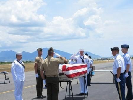 Repatrían restos de soldados norteamericanos de guerra en Vietnam  - ảnh 1