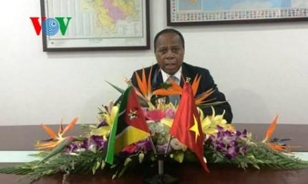 Conmemoran 40 años de relaciones diplomáticas entre Vietnam y Mozambique  - ảnh 1