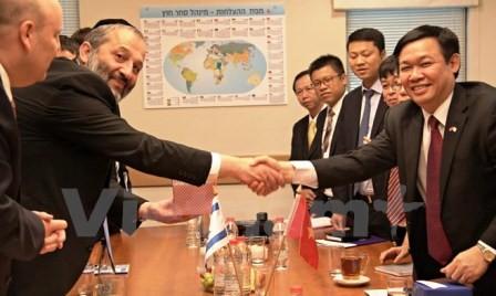 Vietnam e Israel por aumentar intercambio comercial  - ảnh 1