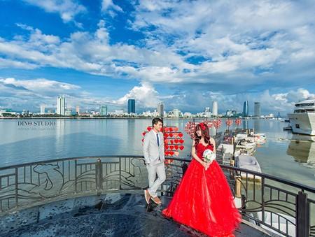 Da Nang, destino favorito para toma de fotos de matrimonios  - ảnh 10