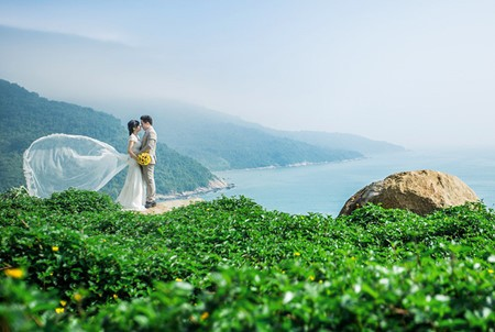 Da Nang, destino favorito para toma de fotos de matrimonios  - ảnh 13