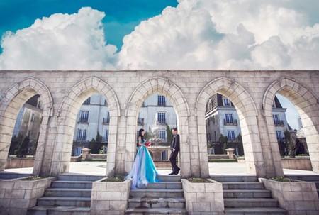 Da Nang, destino favorito para toma de fotos de matrimonios  - ảnh 2