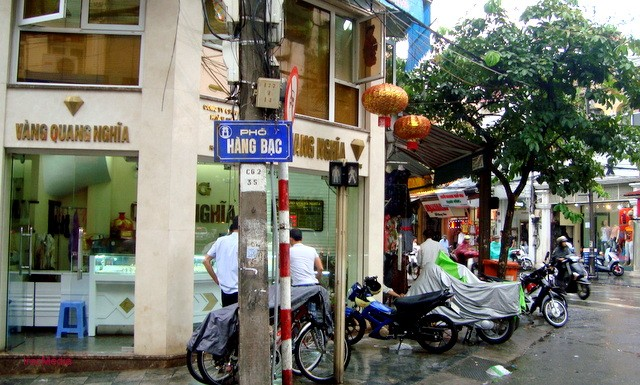 Hang Bac, particular calle de fundición de plata de Hanoi - ảnh 2