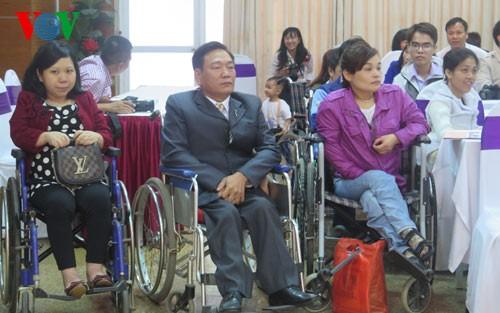 Promueven en Vietnam los derechos de las personas con discapacidad - ảnh 1