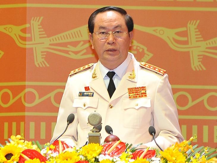 Líderes mundiales felicitan al nuevo presidente vietnamita, Tran Dai Quang - ảnh 1