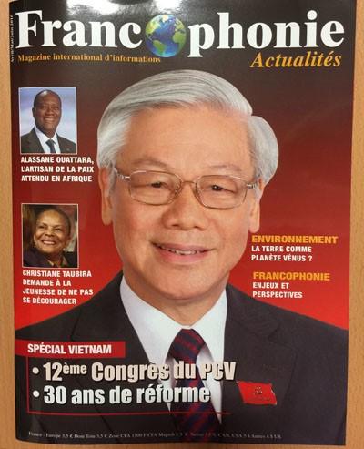 Prestigiosa revista francesa resalta éxitos de Vietnam en empresa de renovación - ảnh 1