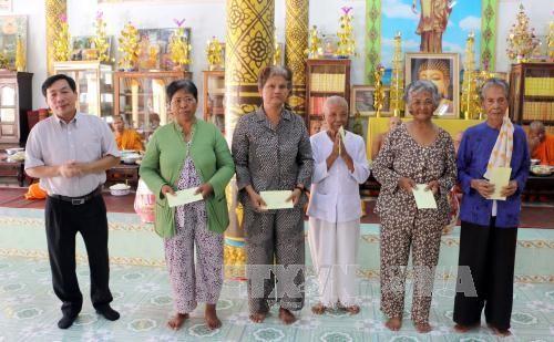 Comunidad jemer de Vietnam promueve construcción nacional - ảnh 1