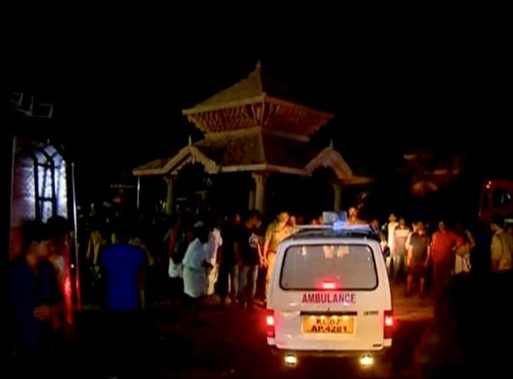Un incendio en un templo en India deja más de 100 muertos - ảnh 1