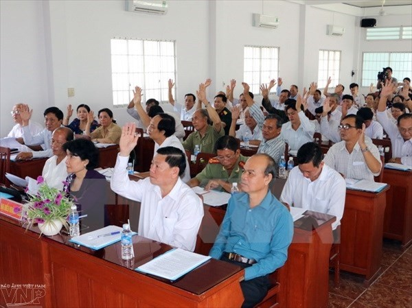 Ultiman listas de candidatos a la Asamblea Nacional de Vietnam y Consejos provinciales - ảnh 1