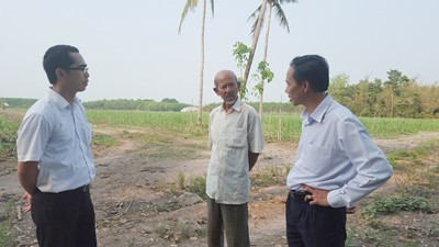 Préstamo en grupo asociado beneficia a agricultores de Tay Ninh - ảnh 2
