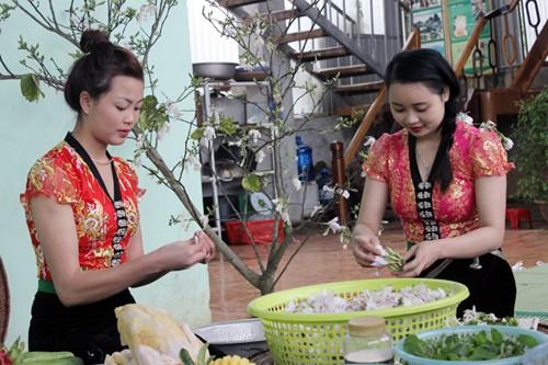 Manjares preparados con flores de Bauhinia en tierra septentrional de Vietnam - ảnh 5