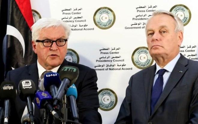 Francia y Alemania dispuestas a asistir al gobierno de unidad nacional de Libia - ảnh 1
