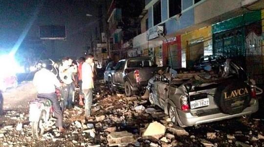 Terremoto de 7,8 grados deja al menos 77 muertos en Ecuador - ảnh 1