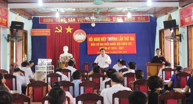 Celebran tercera consulta pública para las próximas elecciones legislativas y locales - ảnh 1