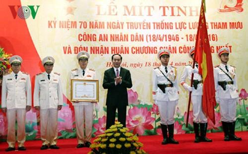 Ministerio de Seguridad Pública de Vietnam conmemora 70 años de Fuerzas Asesoras - ảnh 1