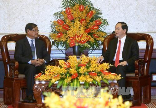 Vietnam  y Camboya consolidan cooperación en seguridad - ảnh 1