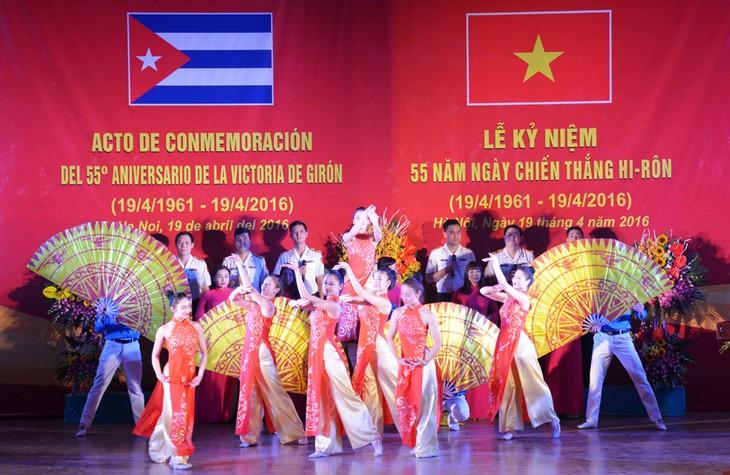 En Hanoi la conmemoración del 55 Aniversario del triunfo cubano de Girón - ảnh 2