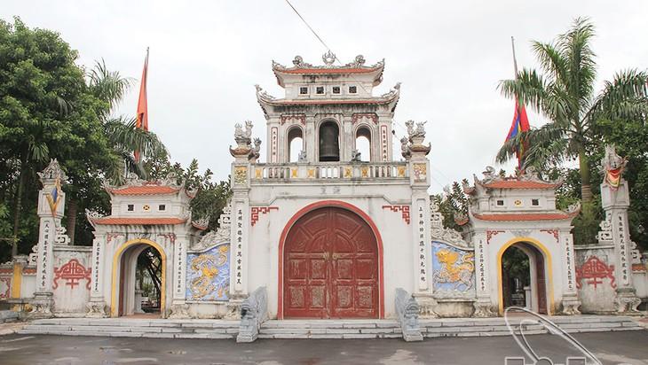 El Templo Tranh y la historia sobre la deidad del agua - ảnh 1