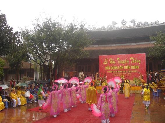 El Templo Tranh y la historia sobre la deidad del agua - ảnh 3