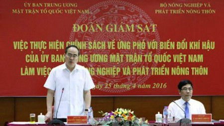 Trazan medidas para responder al cambio climático en Vietnam - ảnh 1