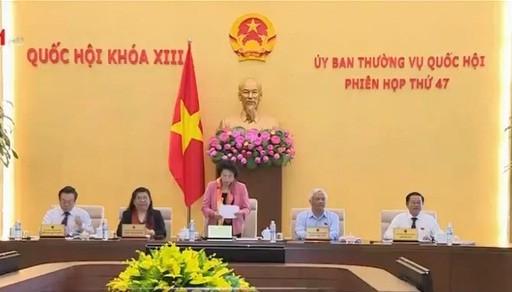 Inaugurada 47 sesión del Comité Permanente de la Asamblea Nacional de Vietnam - ảnh 1