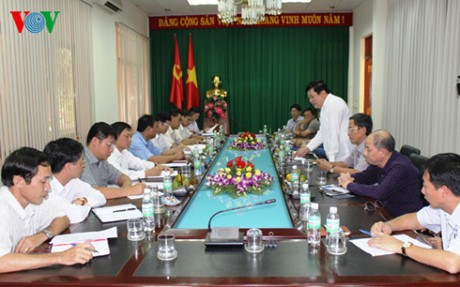 Dak Lak apoya labores radiofónicas de la Voz de Vietnam - ảnh 1