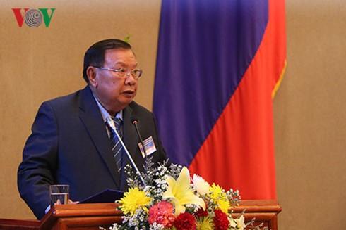 Vietnam y Laos intensifican relaciones de cooperación - ảnh 1