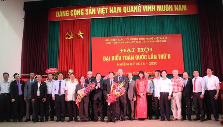 Destacan operación eficiente de Asociación de Amistad y Cooperación Vietnam-Brasil - ảnh 1