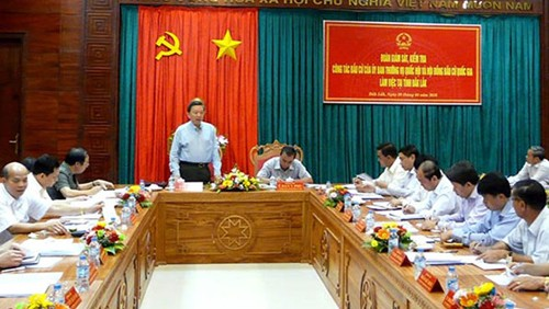 Supervisan preparativos electorales en Dak Lak y Ciudad Ho Chi Minh - ảnh 1
