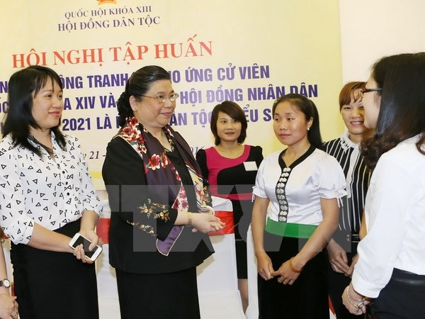 Vietnam favorece porcentaje representativo de grupos étnicos en órganos electos - ảnh 1