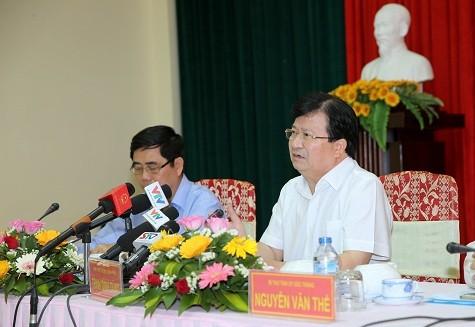 Provincias deltaicas de Mekong responden activamente a la sequía y salinización del suelo  - ảnh 1