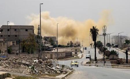 Ejército de Siria prepara misión para liberar a la ciudad de Alepo  - ảnh 1