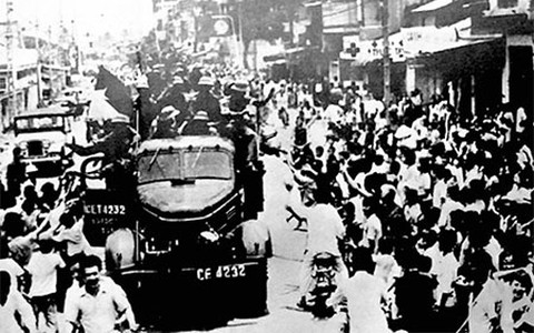 Victoria vietnamita del 30 de abril de 1975 en la prensa extranjera - ảnh 1