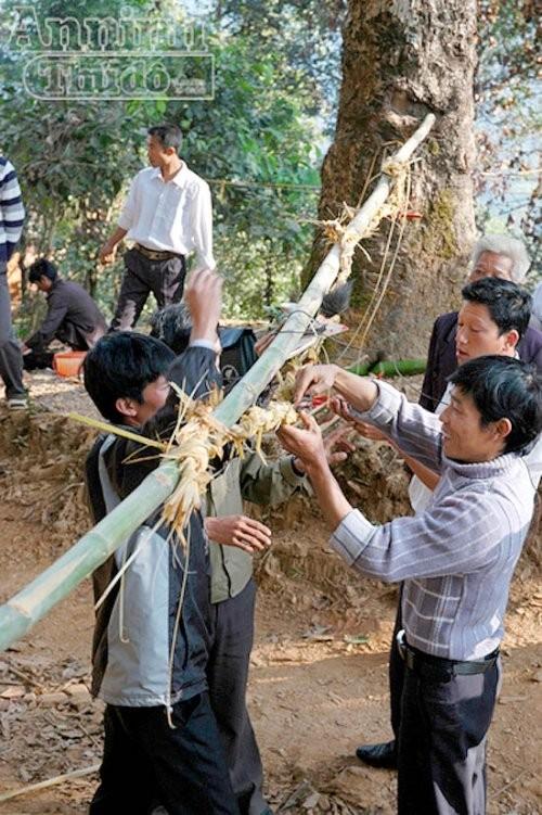 Etnia Ha Nhi y su culto a las deidades protectoras de aldea - ảnh 1