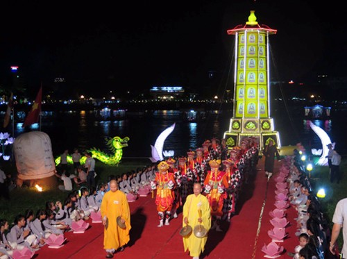Se celebra por primera vez rito de iluminación de inteligencia budista en Festival de Hue - ảnh 1
