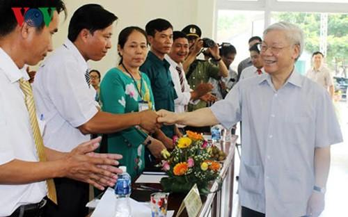 Líder partidista elogia esfuerzos hacia el desarrollo sostenible - ảnh 1
