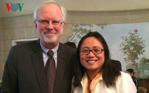 Cooperación en educación, hito en los lazos Vietnam-Estados Unidos - ảnh 2