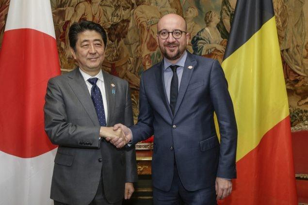Japón dispuesto a fomentar cooperación con Bélgica en lucha contra terrorismo  - ảnh 1