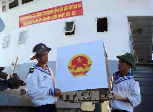 Listo distrito insular de Truong Sa para las elecciones - ảnh 1